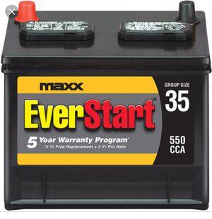 BRAND NEW Car Battery Everstart Maxx Group 35 for Sale in Manassas, VA