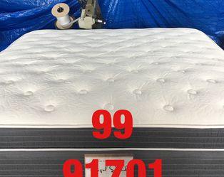 """Queen 14"""" thick luxury foam encase pillow top mattress.Mattress only-$350. Mattress & box spring-$399. .King size-$450 mattress only. $550 mattress & for Sale in Rancho Cucamonga,  CA"""