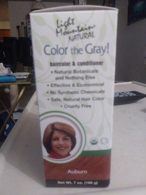 Light mountain natural haircolor&conditioner for Sale in Everett, WA