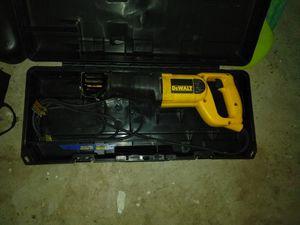 Like new DeWalt reciprocating saw for Sale in Wichita, KS