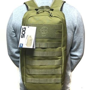 Brand NEW! SOG Olive Green Slim Backpack For Everyday Use/Outdoors/Traveling/Work/Sports/Biking/Hiking/Camping/Gifts for Sale in Carson, CA