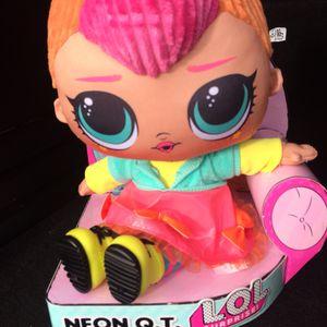 LOL Surprise Neon Huggable Plush Doll for Sale in Lakewood, WA