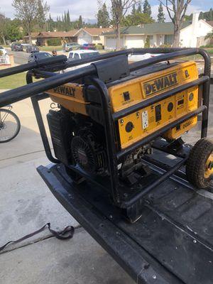 Ready to work Dewalt Model DG6000 Commercial Generator for Sale in La Puente, CA