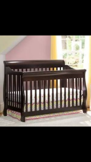 Brand new/ Crib conversion( selling w/ toys and sheets) for Sale in San Diego, CA
