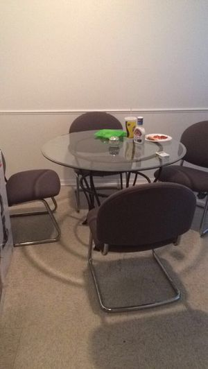 Glass Kitchen Table for Sale in Durant, OK