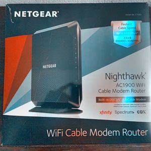 Netgear Nighthawk AC1900 WiFi Cable Modem Router for Sale in Henderson, NV