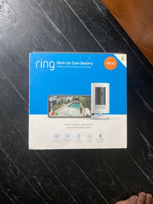 Ring Stick Up Camera (battery operated) for Sale in Washington, DC