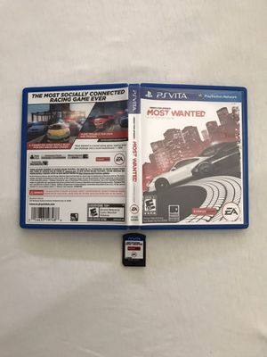 PlayStation Vita Video Game Need For Speed Cartridge Like New for Sale in Reedley, CA