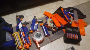 Nerf guns, magazines and nerf darts for Sale in Denver, CO