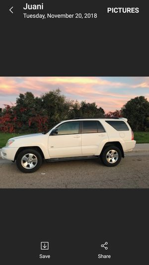 05 Toyota 4runner for Sale in Dinuba, CA
