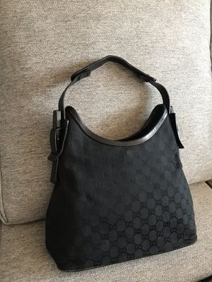Gucci Monogram Black Canvas shoulder bag for Sale in San Diego, CA