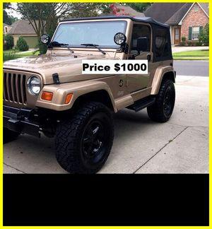 ֆ1OOO_1999 Jeep Wrengler for Sale in Norwalk, CA