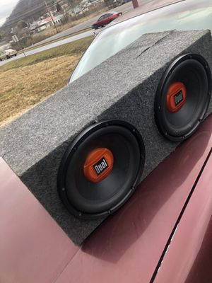 Dual 12 Inch Subs for Sale in Princeton, WV