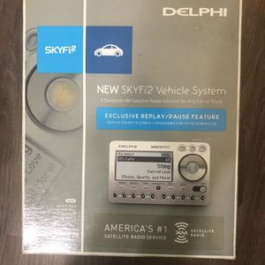 Delphi SKYFi2 Vehicle System NEW Sealed NIB XM Radio Receiver Remote Control for Sale in Anaheim, CA