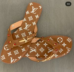 Christian Louis Vuitton sandals new for Sale in Philadelphia, PA