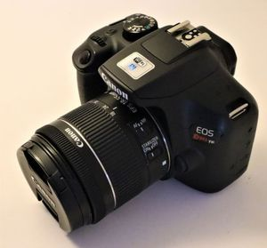 Canon EOS Rebel T6 Digital Camera with EF-S 18-55mm Lens for Sale in Miami, FL