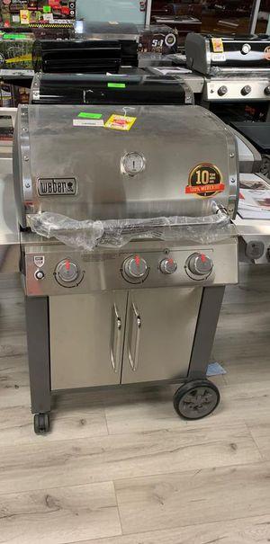 WEBER GENESIS II STAINLESS STEEL BBQ PROPANE UV for Sale in Houston, TX