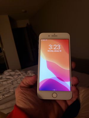 I phone 7+ brand new out of box silver for Sale in Everett, WA