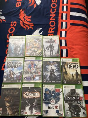 Video games for sale for Xbox 360, psp, and Nintendo ds for Sale in Montebello, CA