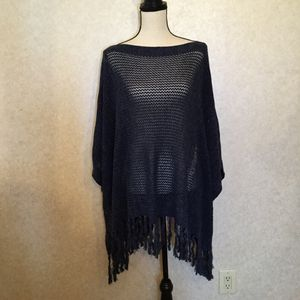 Lauren Jeans Company Ralph Lauren NWT Fringed Poncho for Sale in Peabody, MA
