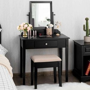 Brand New Vanity Dressing Table Set with Stool and Mirror for Sale in Los Angeles, CA