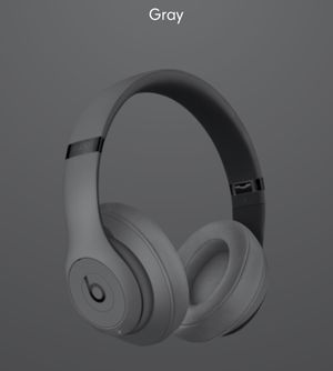 Beats Studio3 WL Gray-USA Wireless Headphones for Sale in Virginia Beach, VA