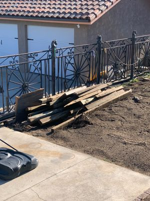 FREE pressure treated 4x6 wood for Sale in Alta Loma, CA
