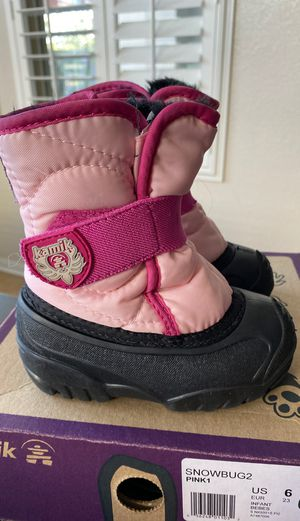 Snow boots little kids for Sale in Chula Vista, CA
