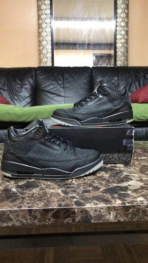 "2011 Air Jordan Retro 3 ""Black Flip"" for Sale in Frederick, MD"