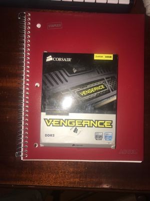 Corsair 2- 8GB DRAM cards (16gb total) Model-DDR3 for Sale in Santa Cruz, CA