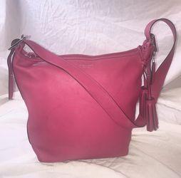 Coach Legacy Hot Pink Shoulder Bag for Sale in Montgomery,  AL