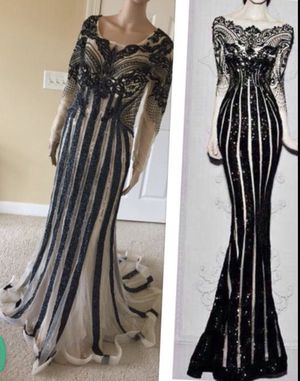 Nersyan collection gorgeous prom formal dress for Sale in Raleigh, NC