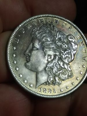 Beautiful toning 1885o SILVER Morgan dollar for Sale in Denver, CO