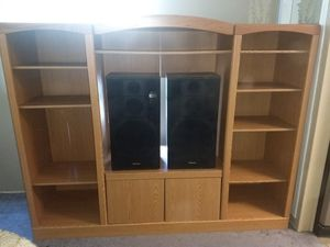 Solid heavy entertainment center for Sale in West Monroe, LA