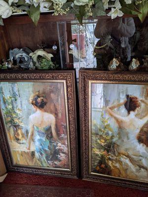 Home interior.set de cuadros estan como nuevos for Sale in Los Angeles, CA