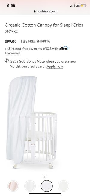 Stokke sleepi canopy for Sale in Addison, IL