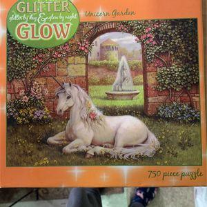 Glow In The Dark Unicorn Puzzle for Sale in Simi Valley, CA