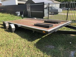 Car trailer 16' for Sale in Homestead, FL