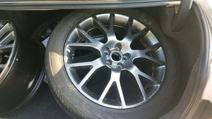 18 inch rims with a 4.5 x 5 bolt pattern for Sale in Mountainburg, AR