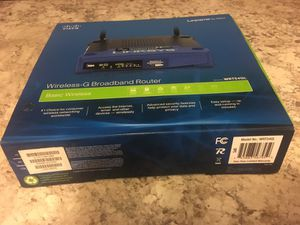 Cisco-Linksys WRT54GS Wireless-G Broadband Router . for Sale in Pittsburgh, PA