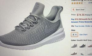 Nike Renew rival grey gray white men's shoe size 10 for Sale in Escondido, CA