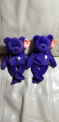 Beanie Babies PRINCESS DI 1997 BOTH 2 FOR $79 for Sale in Coronado, CA