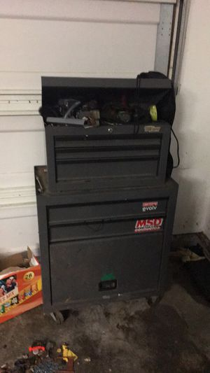 Tool box and heater for Sale in Lompoc, CA
