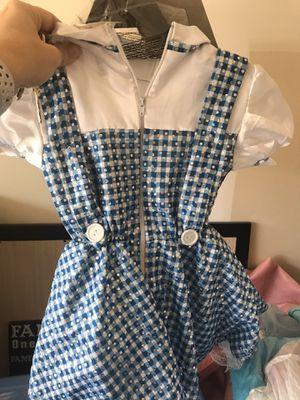 Dorothy CoStume 1-2 toddler for Sale in Las Vegas, NV