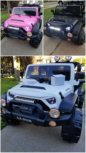 BRAND NEW 12VOLT RIDE ON FOR KIDS POWER WHEELS WITH REMOTE CONTROL for Sale in Ontario, CA