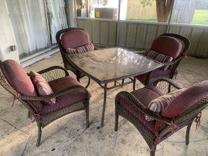 5pc Patio Set for Sale in Apollo Beach, FL