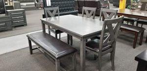 6 PCS dining table for Sale in San Bernardino, CA
