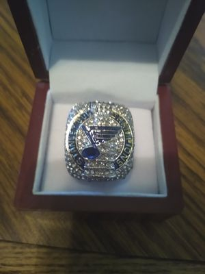 St Louis Blues Championship Ring with Display Case for Sale in BRECKNRDG HLS, MO