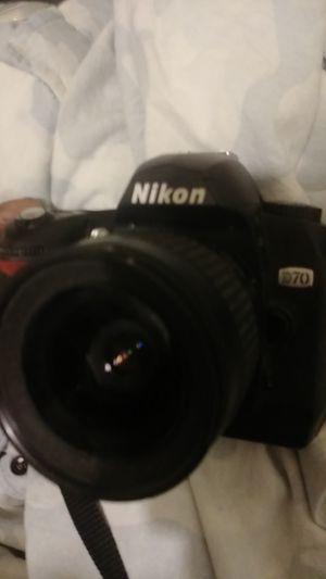 Nikon D70 digital Camera with AF Nikkor 80mm lens for Sale in Los Angeles, CA