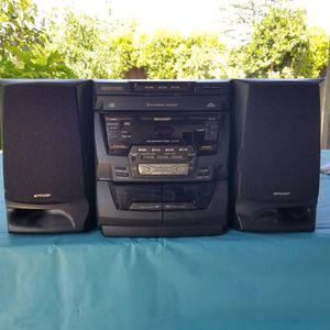 Sharp Stereo system for Sale in San Jose, CA
